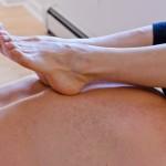 Ashiatsu massage technique